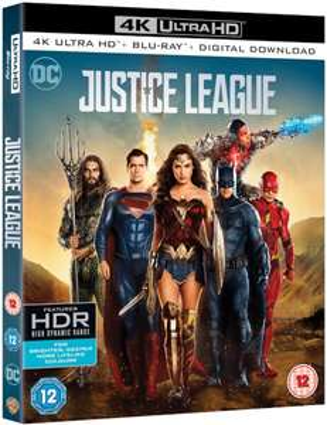Justice League 4k UHD £9.99 @Amazon prime(£2.99 p&p non prime)4%tcb