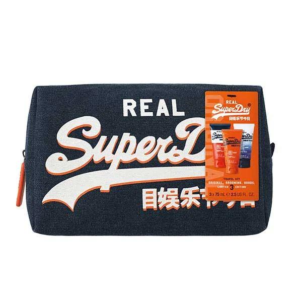 Superdry wash bag gift set now £4.99 at Superdrug