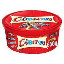Celebrations Tub 650g £3 @ Wilko (Instore Only)