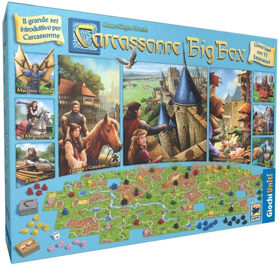 Giochi Uniti -Carcassonne Big Box Board Game £44.30 @ Amazon