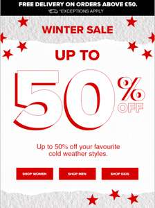 Converse winter sale up to 50% off Men's, Women's, Kids trainers and accessories