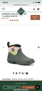 Muck boots up to 50% off sale + free delivery