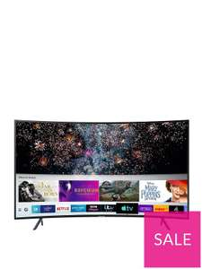 SamsungUE55RU7300KXXU(2019) 55 Inch, Curved Ultra HD, 4K Certified HDR Smart TV at Very for £449