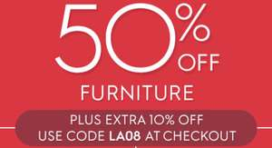 Laura Ashley Up to 50% sale live with additional 10% off with code