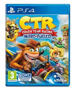 Crash Team Racing Nitro-Fueled (PS4) £19.99 (+£2.99 Non Prime) @ Amazon