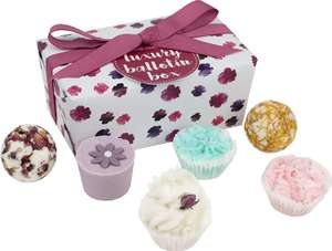 Bomb Cosmetics Luxury Ballotin Handmade Bath Melt Gift Pack£5.99 (+£4.49 Non Prime) @ Amazon