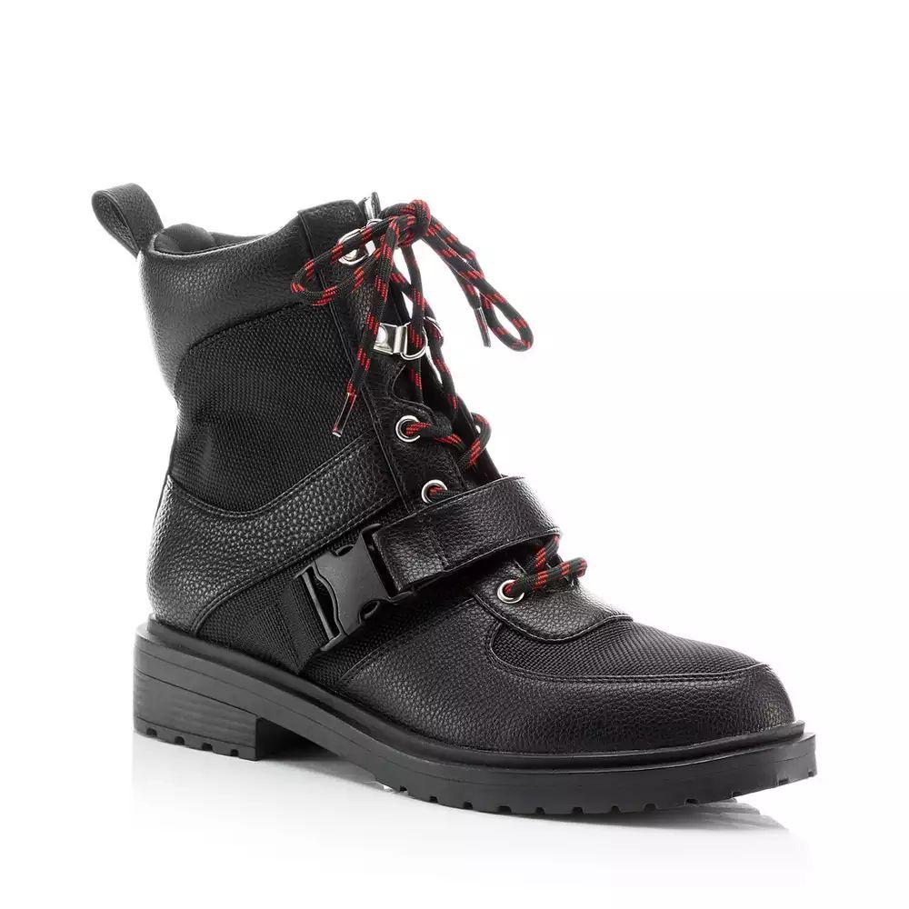 Faith black lace up hiker boots £16.50 at Debenhams free c&c