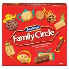Family circle biscuits 620g £1 instore @ Tesco