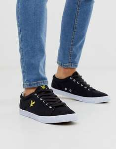 Lyle & Scott Halket Logo Trainers (Size 10 Only) £17.50 Delivered (With Code) @ ASOS