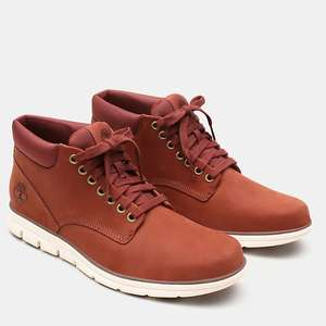 Timberland bradstreet leather chukka in red £54 @ Timberland Shop