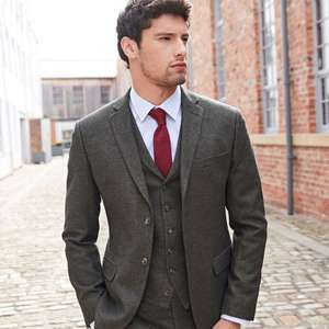 Up to 50% off Sale + extra 10% Off with code @ Suit Direct e.g Scott Taylor Grey Check Regular Fit Mens Suit now £80.10 with code
