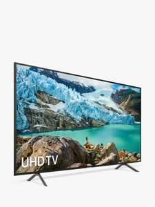 """Samsung UE75RU7100 HDR 4K Ultra HD Smart TV, 75"""" - £799.99 At John Lewis with 5 year warranty when price matched"""