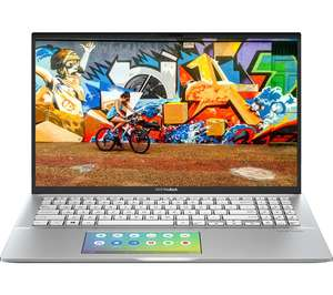 "ASUS VivoBook 15 S532 FA 15.6"" Intel® Core™ i5 Laptop - 512 GB SSD, Silver £529 @ Currys"