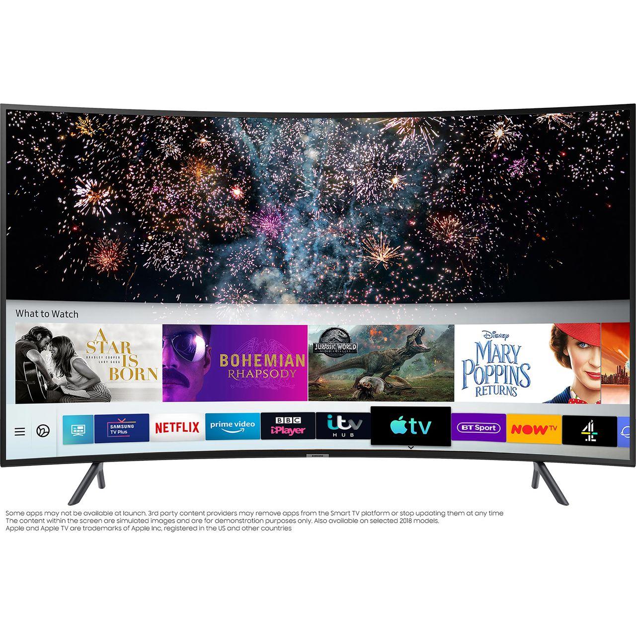 Samsung 65 in Curves 4K HDR10+ LED TV £579 @ AO