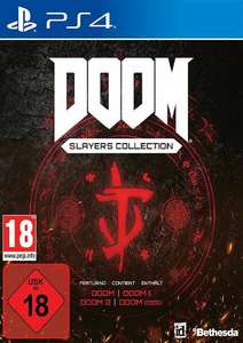 Doom: Slayers Collection PS4 (all 4 Doom games) £14.99 @CdKeys