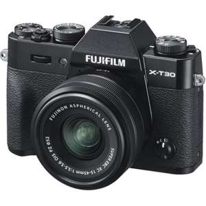Fujifilm X-T30 with 15-45mm kit lens for £769 + free 32GB Sandisk Extreme Pro memory card @ Park Cameras (£619 after £150 cashback)
