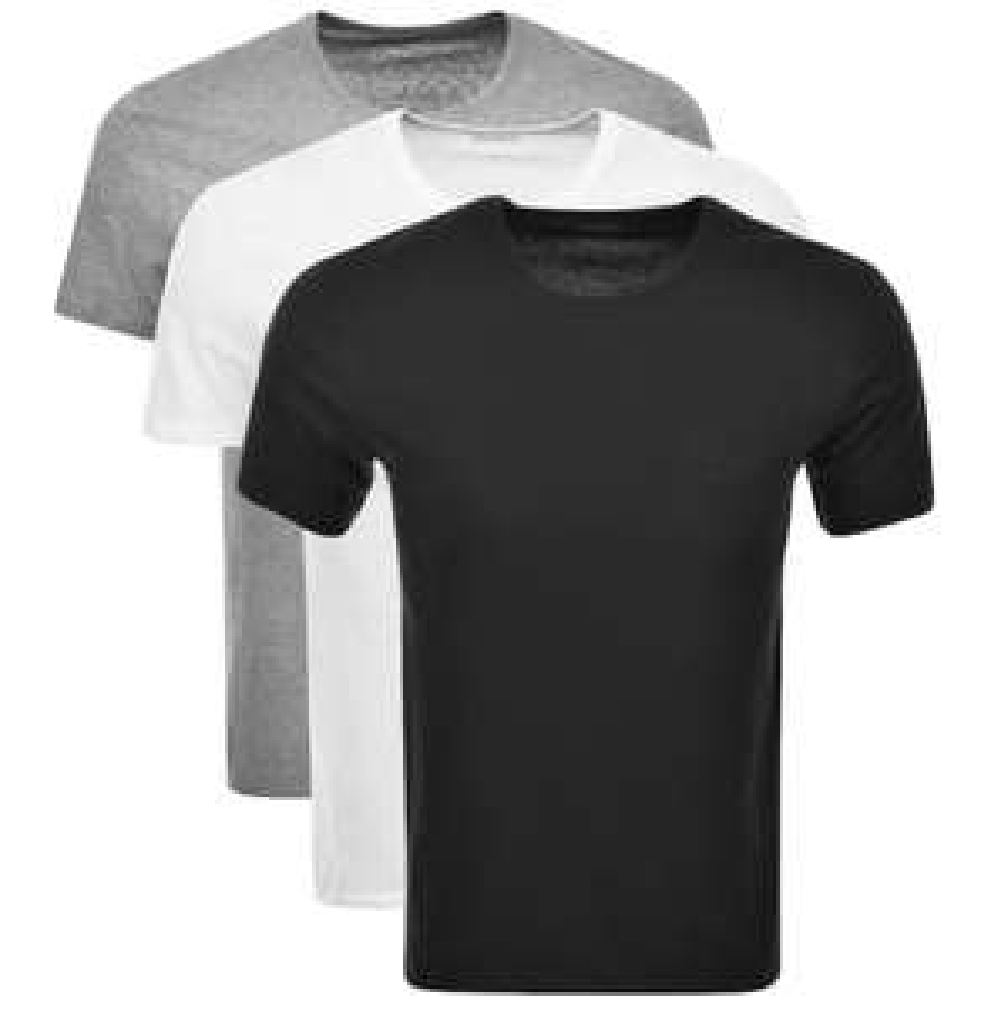 Boss Hugo Boss Triple Pack Crew Neck T-Shirts £29.75 Delivered @ Mainline Menswear