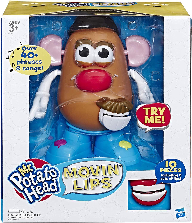 Mr Potato Head E4763802 Playskool Movin' Lips Electronic Interactive Talking Toy £10.40 (Prime) /+4.49 (Non Prime) @ Amazon