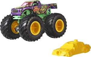 Hot Wheels FYJ44 Monster Trucks 1:64 Scale Die-Cast with Giant Wheels £2.88 (Prime) /+£4.49 (Non Prime) @ Amazon