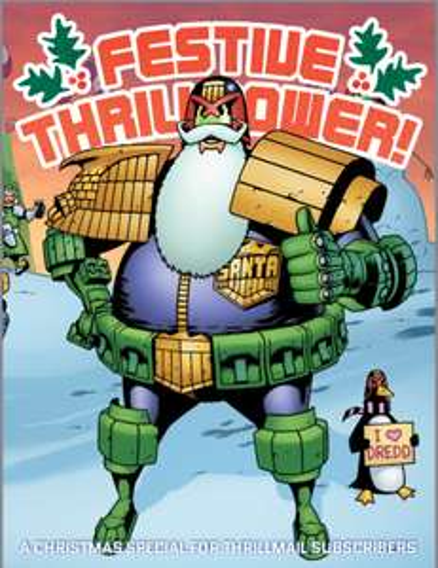 Free Judge Dredd/2000ad Christmas 91 page Digital Graphic Novel (Alan Moore etc)