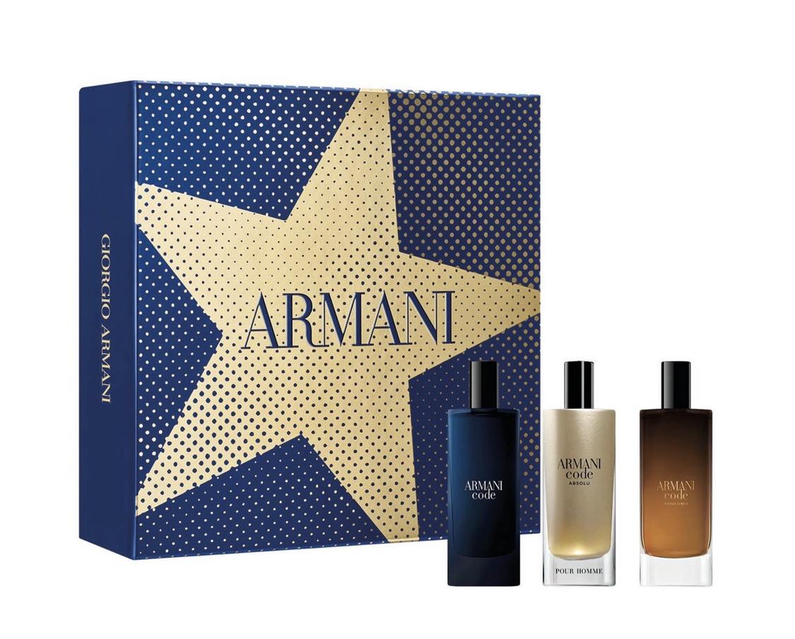 ARMANI - Travel Size Aftershave Discovery Christmas Gift Set @ Debenhams £32.66