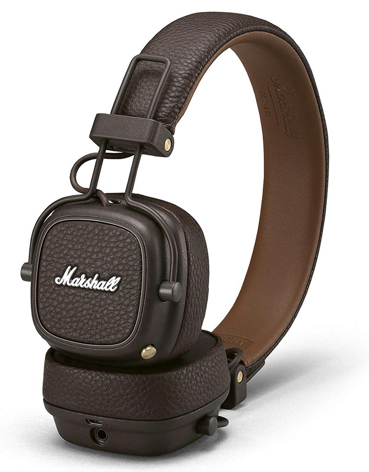 Marshall Major III Foldable Bluetooth Headphones - Black £69.99 at Amazon