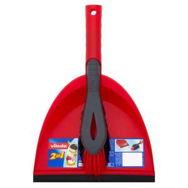 Vileda Red Dustpan and Brush Set £2.50 @ Morrisons