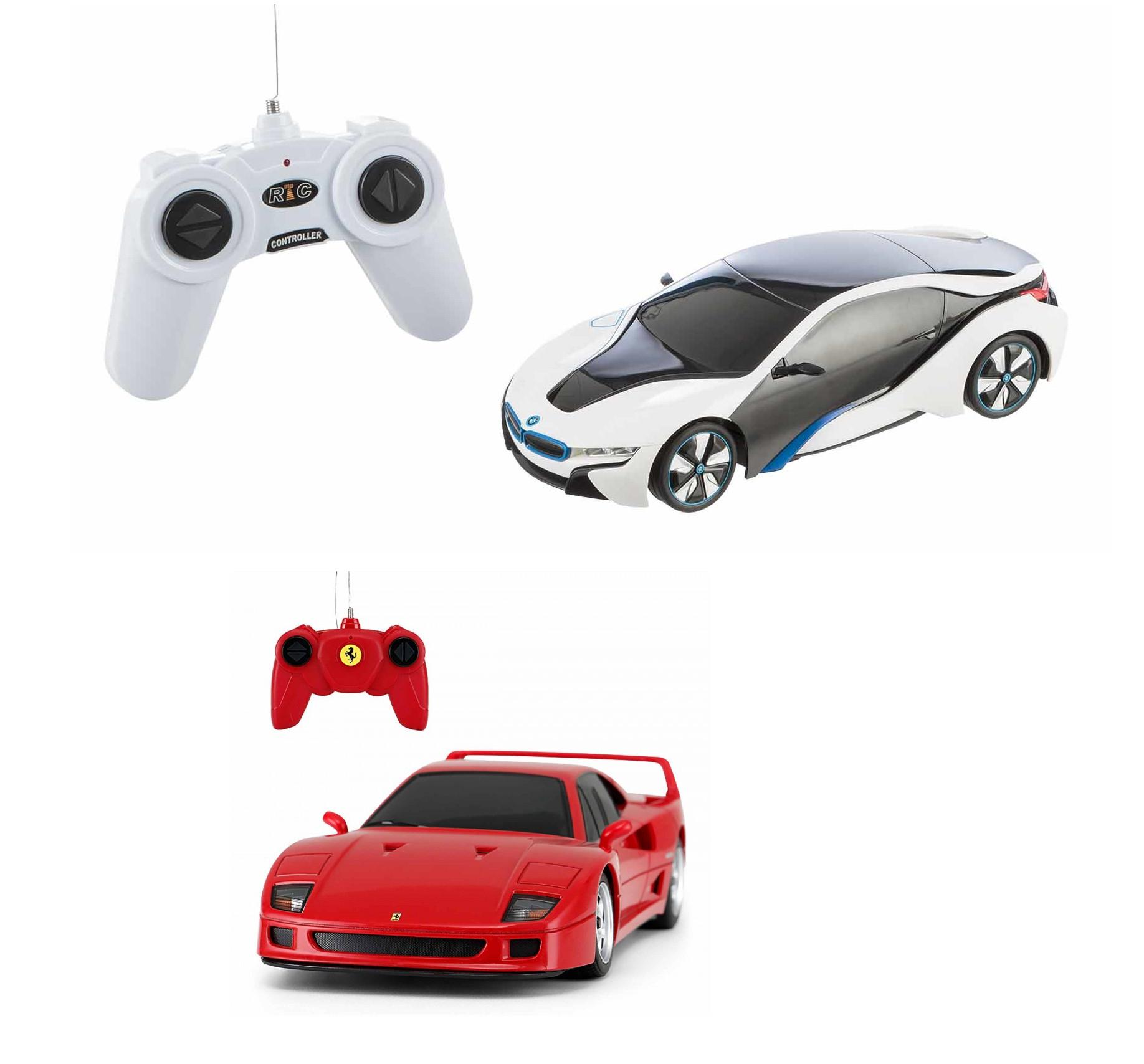 Rastar 1.24 Ferrari F40 or BMW i8 Remote Control Car for £6.49 @ Ryman (Free click and collect)