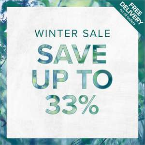 Up to 33% off Christmas Kits, over 30% off selected collections, and 15% off full-size products + Free Delivery @ Liz Earle