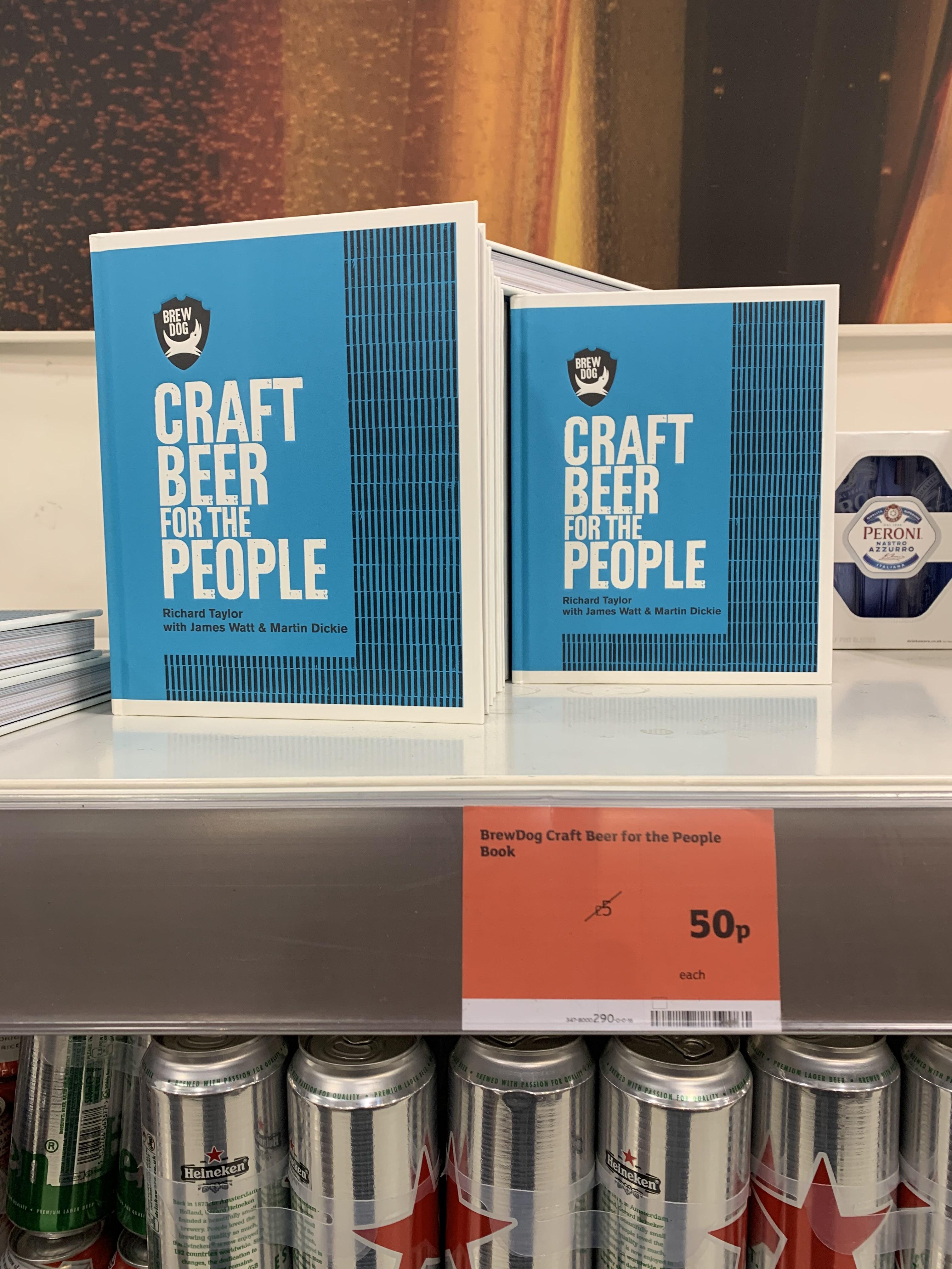 Brewdog Craft Beer For The People 50p @ Sainsbury's Newport