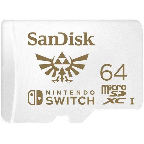 SanDisk 64GB Nintendo Switch Micro SD Card £13.95 @ MyMemory
