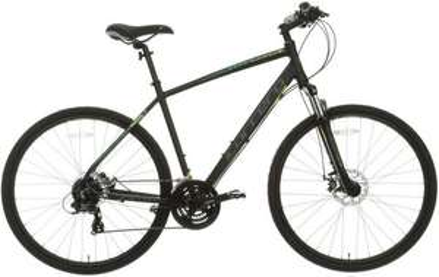 Carrera Crossfire 2 Mens Hybrid Bike - Black - S, M, L Frames £231 @ Halfords