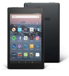 Fire HD 8 Tablet, 32 GB, Black—with Special Offers 'Used - Acceptable' £44.99 @ Amazon Warehouse
