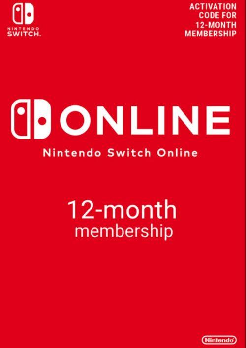 Nintendo Switch Online 12 Months Membership £13.99/3 Months £3.59 @CD Keys