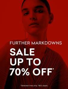 French connection sale up to 70% off.