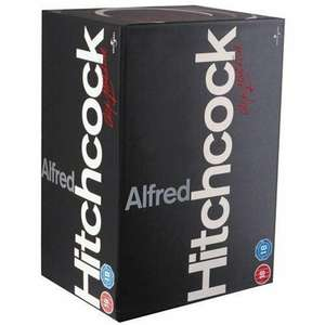 Alfred Hitchcock DVD Box set 14 movies at HMV in store (Sheffield) for £16.99