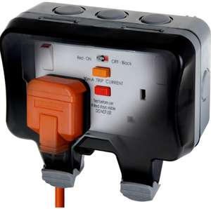 BG Twin 13A Weatherproof Socket - IP66 Rated - £15 delivered @ Homebase