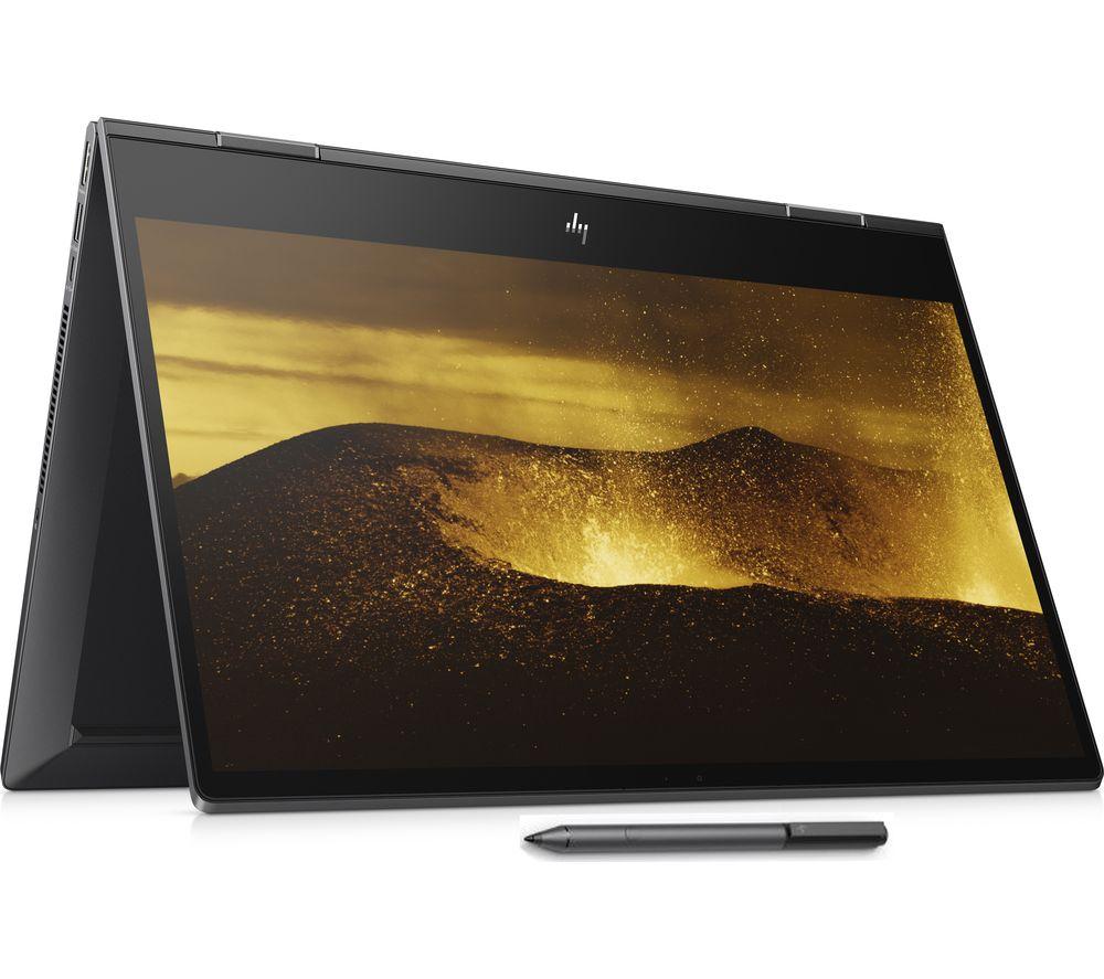 "HP ENVY x360 15.6"" AMD Ryzen 7 2 in 1 - 512 GB SSD, 16gb RAM ,Black - £749 (With Code) @ Currys"
