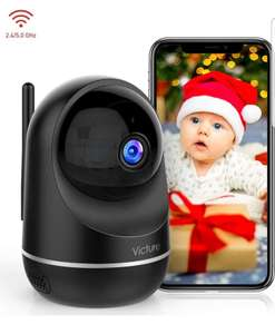 Victure Dualband 2.4Ghz and 5Ghz WiFi Camera 1080P FHD with ONVIF - £26.99 - Sold by MING-EU / Fulfilled by Amazon
