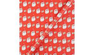 Argos wrapping paper 4M from 30p (Various designs) @ Argos
