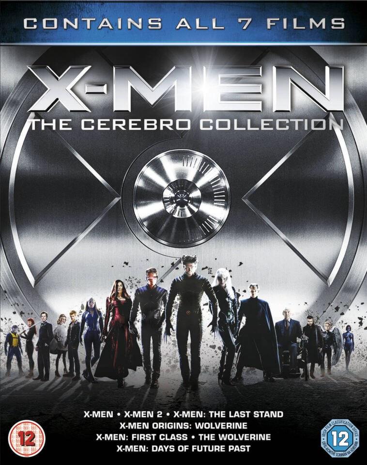 X-Men: The Cerebro blu-ray Collection £5.99 @zavvi