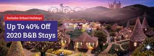 Alton Towers - up to 40% off 2020 B&B Stays - Ends 31/01