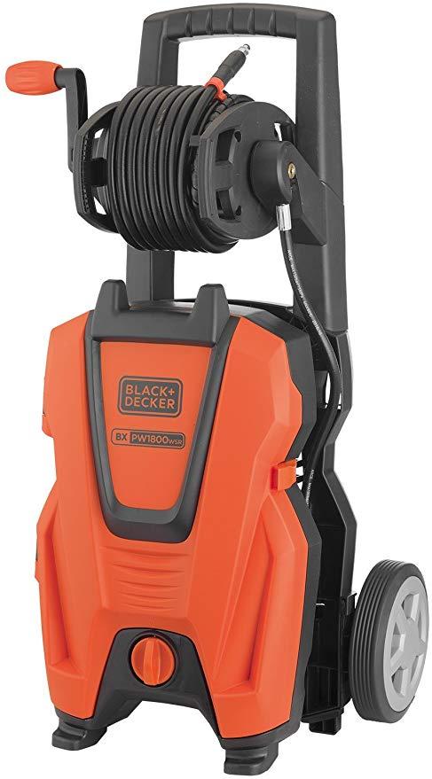 Black+Decker PW1800WSR High Pressure Washer (1800 W, 135 bar, 420 l/h) £117.09 @ Amazon