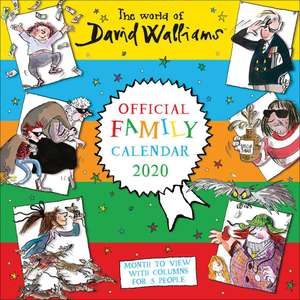 The World of Walliams Official Family Calendar 2020 - £3.50 with free click and collect @ The Works