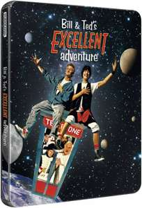 Bill and Teds Excellent Adventure - 25th Anniversary Steelbook Edition Blu-ray - £9.99 @ Zavvi + £1.99 delivery