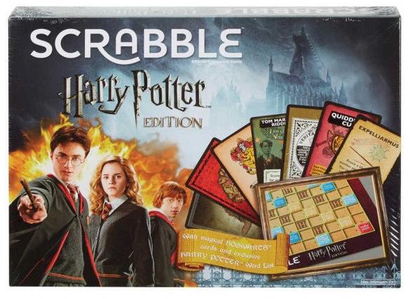 Harry Potter Scrabble - £15 @ Hawkins Bazaar (+£3.49 Postage)