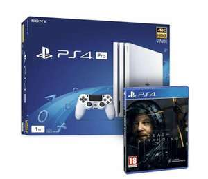 SONY PlayStation 4 Pro 1TB White & Death Stranding Bundle - £249 Delivered @ AO