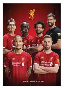Liverpool FC Official 2020 Calendar £3.50 @ The Works (Free C&C)