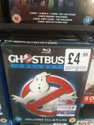 Ghostbusters 1-3 collection (Blu-Ray)at HMV instore for £4.99