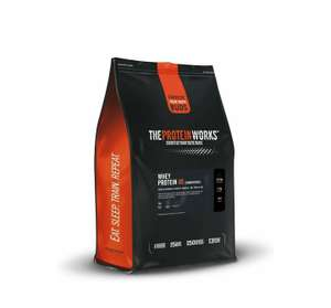 The Protein Works Whey Protein Powder, Whey 80 Concentrate Protein, 2 kg at Amazon for £18.99 Prime (£4.49 non Prime)